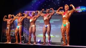 5th Place Men's Bodybuilding Light Heavyweight