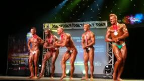 4th Place Men's Bodybuilding Masters